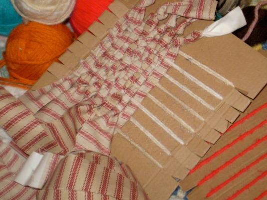 Ticking Stripes Saori