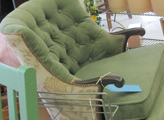 Sage Green Upholstered Chair