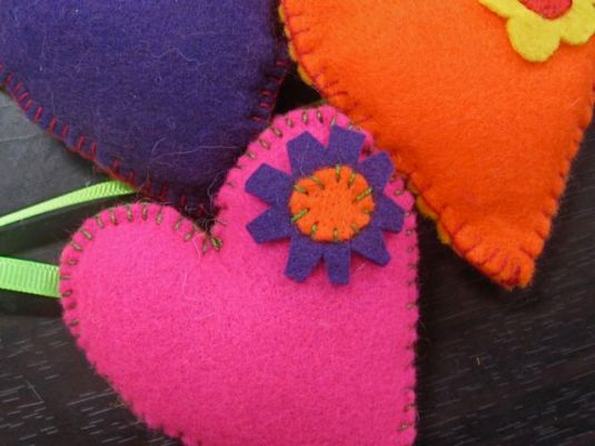 Felt Toys and Pincushions on JanMadeIt